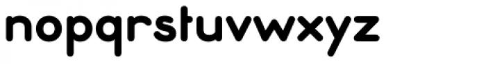 Ebnor Bold Font LOWERCASE