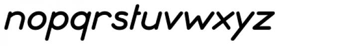 Ebnor Italic Font LOWERCASE