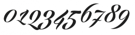 Echinos Park Script  otf (400) Font OTHER CHARS