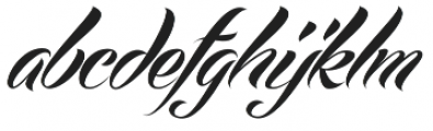 Echinos Park Script  otf (400) Font LOWERCASE