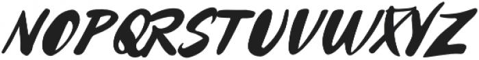 Echizen otf (400) Font UPPERCASE