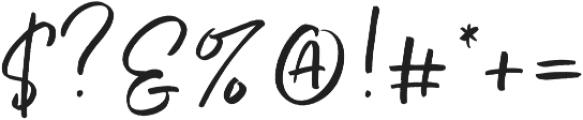 Echo Soul Regular otf (400) Font OTHER CHARS