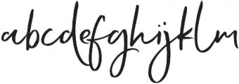 Echo Soul Regular otf (400) Font LOWERCASE
