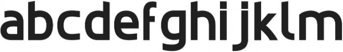 EchoTech_bold ttf (700) Font LOWERCASE