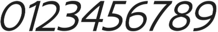EchoTech_italic ttf (400) Font OTHER CHARS