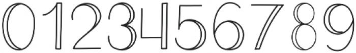 Eclipse - Kestrel Montes otf (400) Font OTHER CHARS