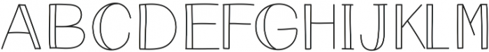 Eclipse - Kestrel Montes otf (400) Font UPPERCASE