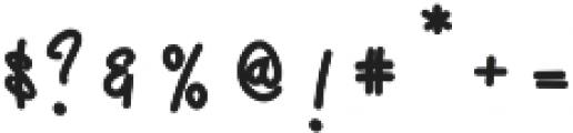 Ecuador  otf (700) Font OTHER CHARS