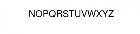 EchoTech Font UPPERCASE