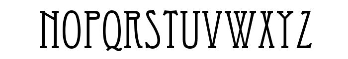 Eccentrical Font UPPERCASE