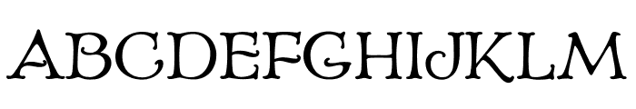 Echedo PersonalUse Font UPPERCASE