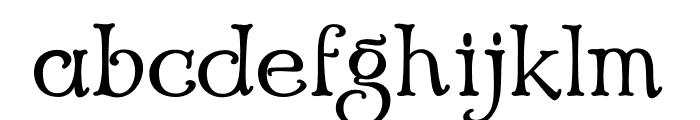 Echedo PersonalUse Font LOWERCASE