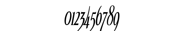 Echelon Condensed Italic Font OTHER CHARS