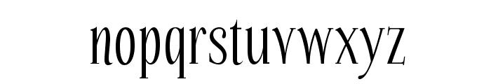 Echelon-Regular Font LOWERCASE
