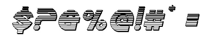 Echo Station Chrome Italic Font OTHER CHARS