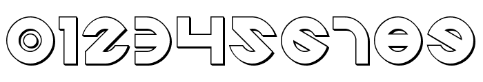 Echo Station Outline Font OTHER CHARS