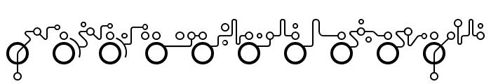 Echolot Font OTHER CHARS