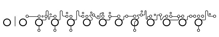 Echolot Font LOWERCASE