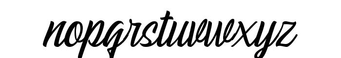 EchomotorsScriptDemo Font LOWERCASE