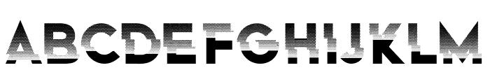 Eclairages Regular Font LOWERCASE