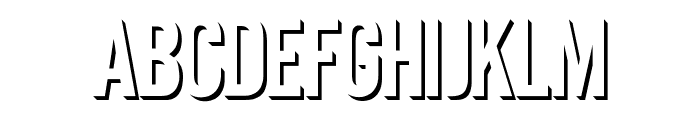 Eclipse Font UPPERCASE