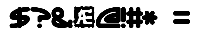Ecliptic -BRK- Font OTHER CHARS