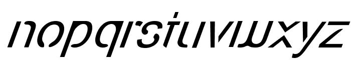 Eco-Files Italic Font LOWERCASE