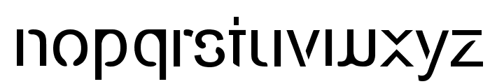 Eco-Files Font LOWERCASE