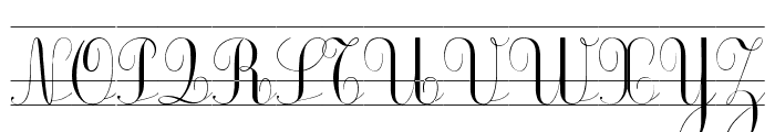 Ecolier_CP Font UPPERCASE