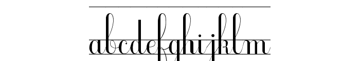 Ecolier_CP Font LOWERCASE