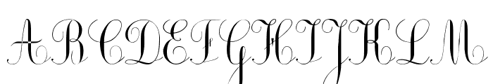 Ecolier_court Font UPPERCASE