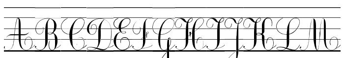 Ecolier_lignes_court Font UPPERCASE