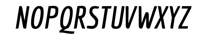 Economica Bold Italic Font UPPERCASE