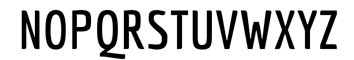 Economica-Bold Font UPPERCASE