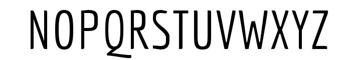 Economica-Regular Font UPPERCASE