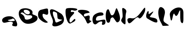 EctoBlaster Font UPPERCASE