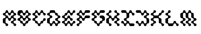 Ectogasm Regular Font UPPERCASE
