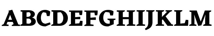 Eczar Bold Font UPPERCASE