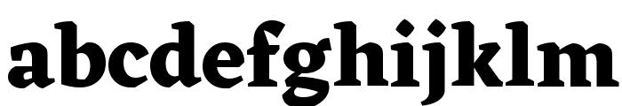 Eczar Bold Font LOWERCASE