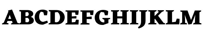Eczar ExtraBold Font UPPERCASE