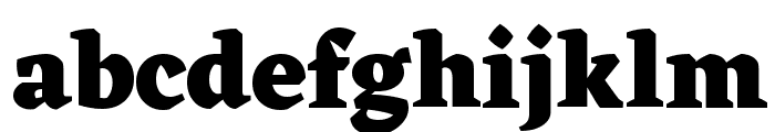 Eczar ExtraBold Font LOWERCASE