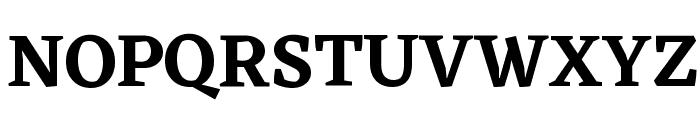 Eczar SemiBold Font UPPERCASE