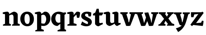 Eczar SemiBold Font LOWERCASE