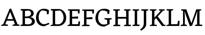 Eczar Font UPPERCASE