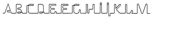 Echelon Regular Font UPPERCASE