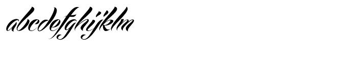 Echinos Park Script Regular Font LOWERCASE