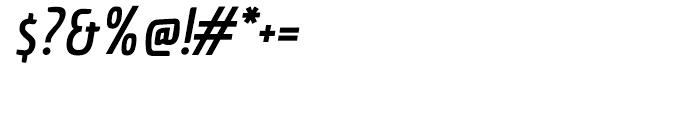 Economica Pro Bold Italic Font OTHER CHARS