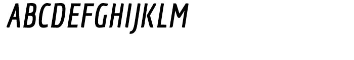 Economica Pro Bold Italic Font UPPERCASE