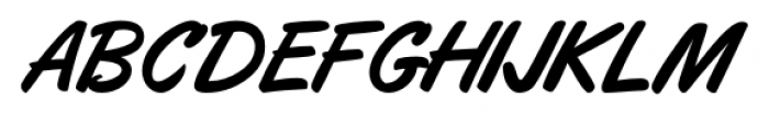 Eckhardt Freehand JNL Regular Font LOWERCASE