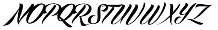 Echinos Park Script Font UPPERCASE
